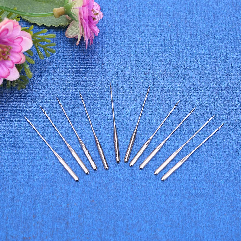 Singer Janome perfk 3Pcs Silver Steel Twin Stretch Machine Needle Double Twin Needles Pins for Butterfly Brother