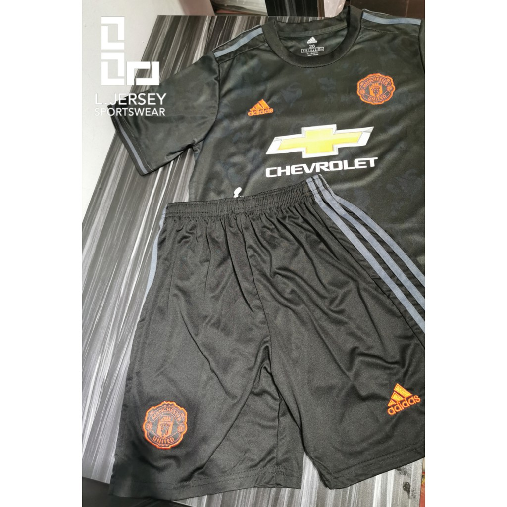 Manchester United Kid 3rd Kit Season 19/20 CLIMALITE Fans Jersey