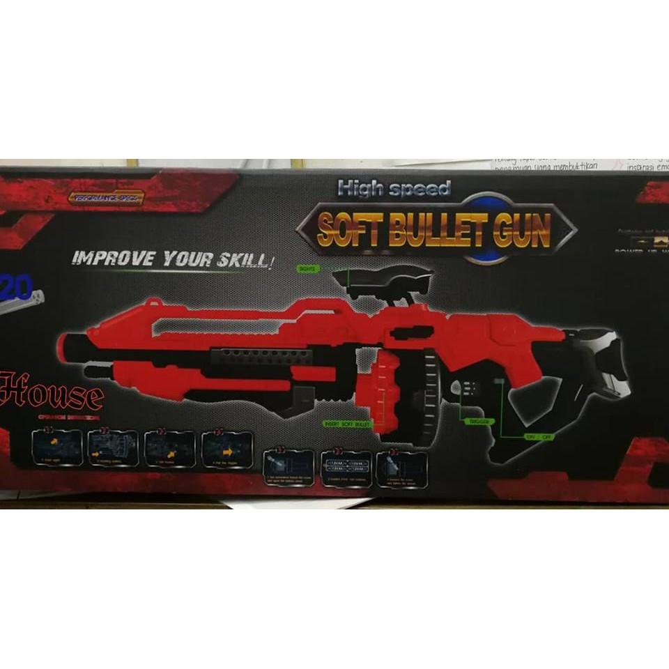 High Speed Soft Bullet Gun Shopee Malaysia