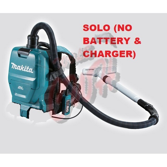 MAKITA DVC260ZX CORDLESS TWIN 18V BACKPACK VACUUM CLEANER (SOLO) BRUSHLESS MOTOR