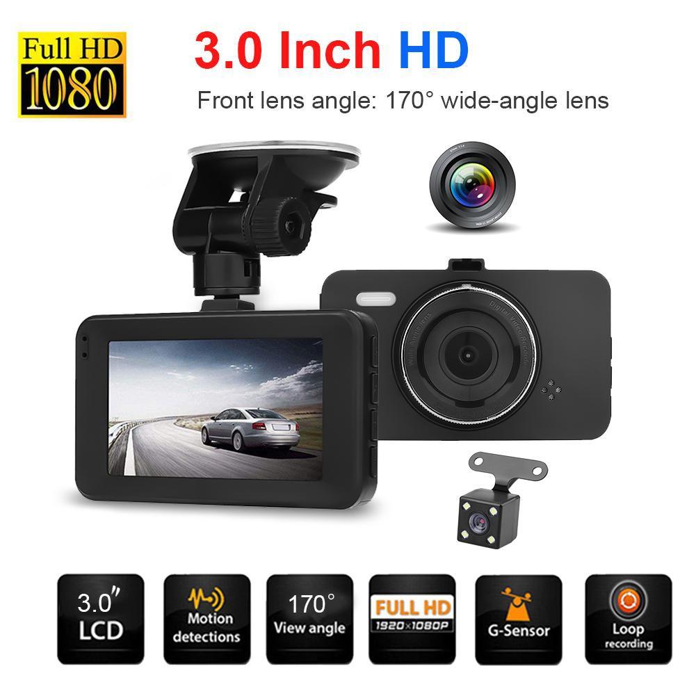 Mini 1080p Auto Car Dvr 170° Wide Angle Dash Cam Video Recorder G-sensor 280mah Interior