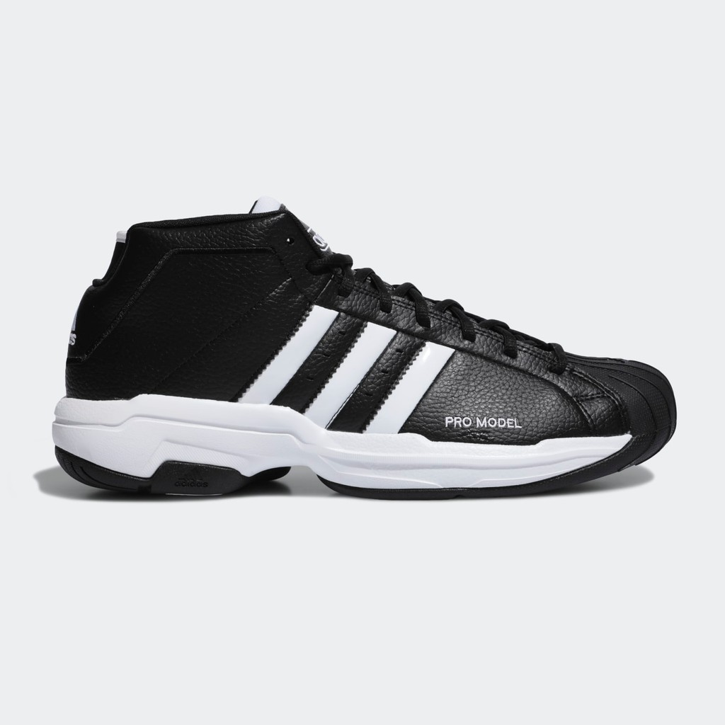 Marty Fielding diagonal cerca  Adidas Pro Model 2 G Men's Leather Shoes Classic Wear Basketball Shoes Fw  3670 | Shopee Malaysia