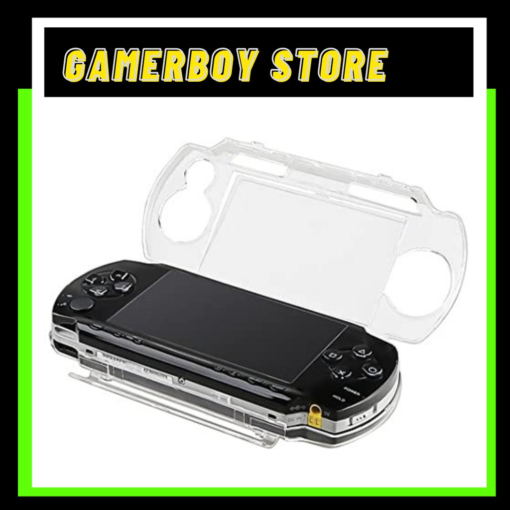 SONY PSP 3000 PROTECTIVE CLEAR CRYSTAL CASE