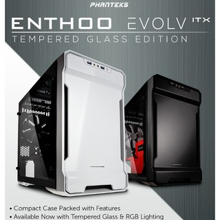 PHANTEKS ECLIPSE P350X TEMPERED GLASS CASING | Shopee Malaysia