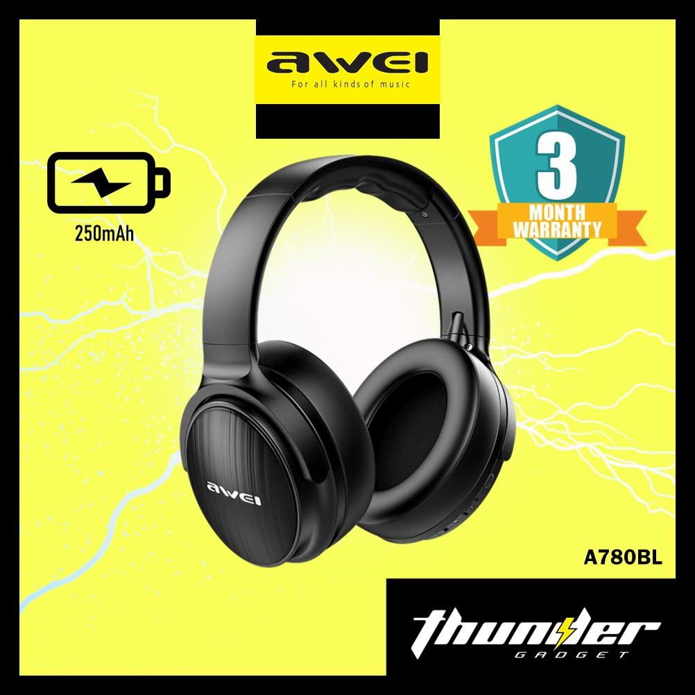 Awei Bluetooth Over Ear Headphones A780BL Wireless Headphones Superior Bass (1 year supplier warranty)