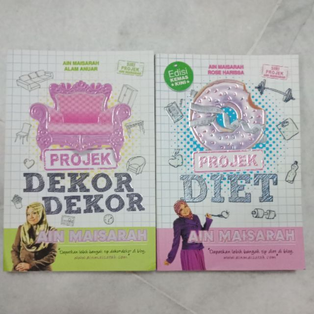 Projek Dekor Dekor And Projek Diet By Ain Maisarah