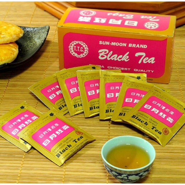 Taiwan Sun-Moon Brand Black Tea台湾 日月潭红茶
