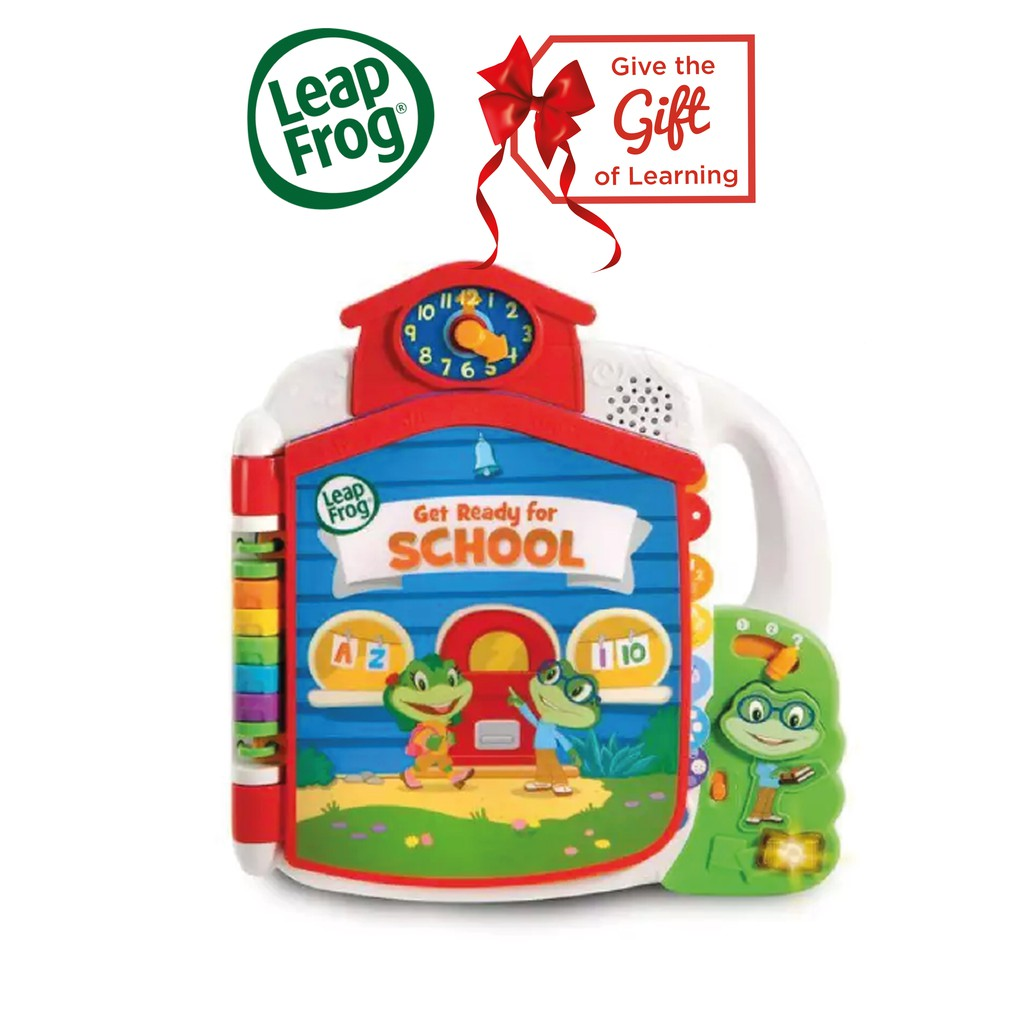 LeapFrog Tads Get Ready for School Book