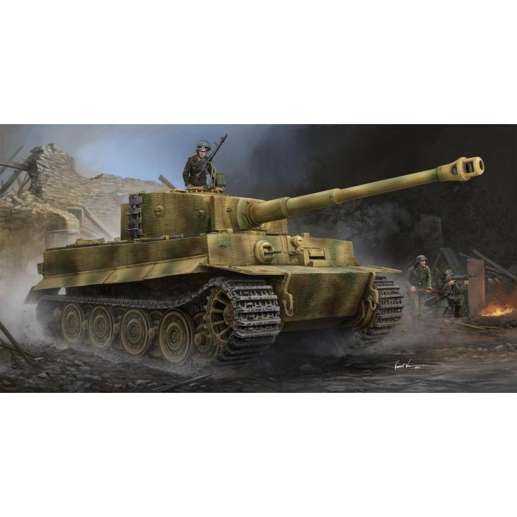 Trumpeter 09540 1/35 Sd Kfz 181 Tiger I Late Production w/Zimmerit
