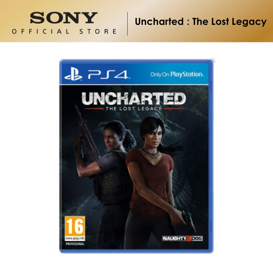 Sony PS4 Game Uncharted : The Lost Legacy