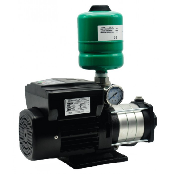 WELFLO IBCMH440T 750W INVERTER MULTISTAGE TANK WATER BOOSTER PUMP