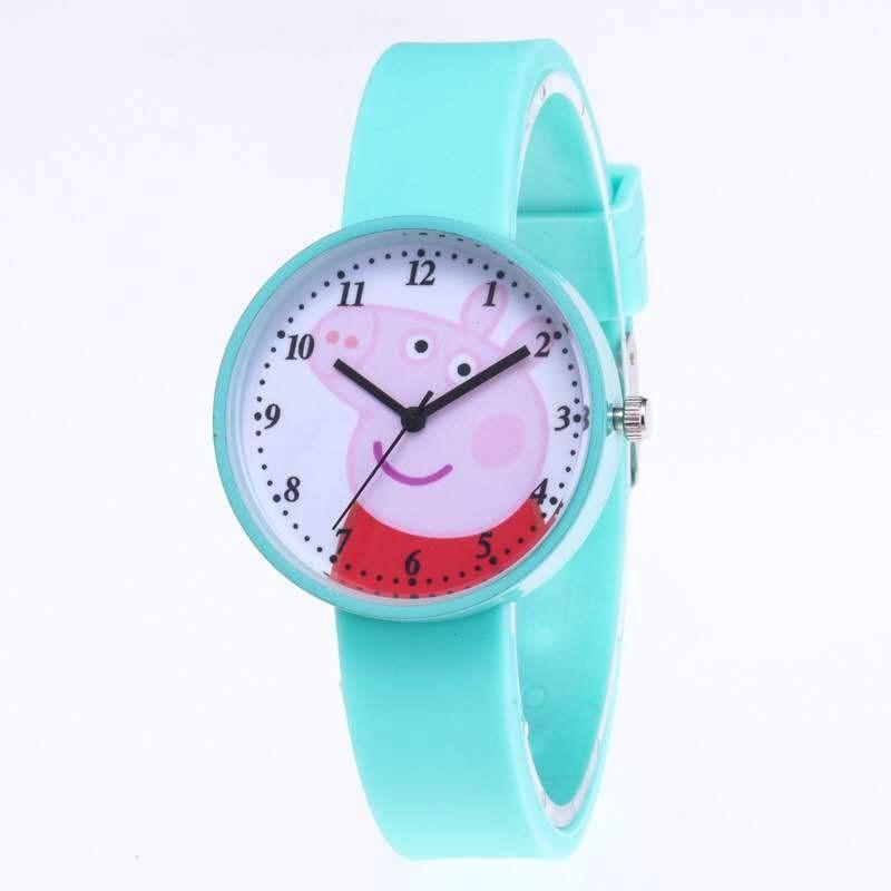 Watches Cartoon Child Watch Girl Boy Student Wristwatches Fashion & Casual Watch Electronic Spider-man Gift Watch
