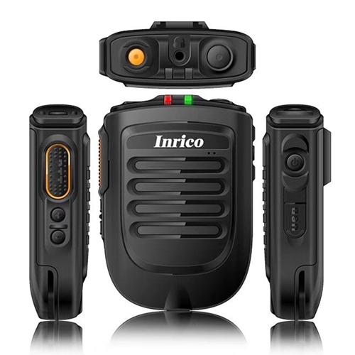 INRICO B01 Bluetooth ZELLO Walkie Talkie PTT Speaker Microphone