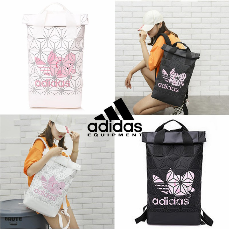 Limited Edition AdidasxIssey Miyake 3D Urban Mesh Roll Up Backpack Peppa  Pig Bag  d777a51ce33ba