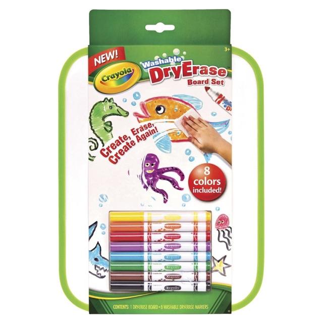 พร้อมส่ง!! Crayola Erase Board set ของแ