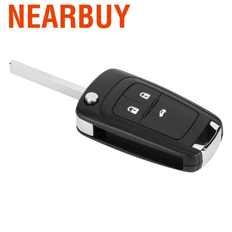 Automobile Locksmith Quality 2 button Remote Control Flip Folding Key Fob Shell Case Replacement Repair with Uncut Key Blade for Vauxhall Opel Insignia Astra key