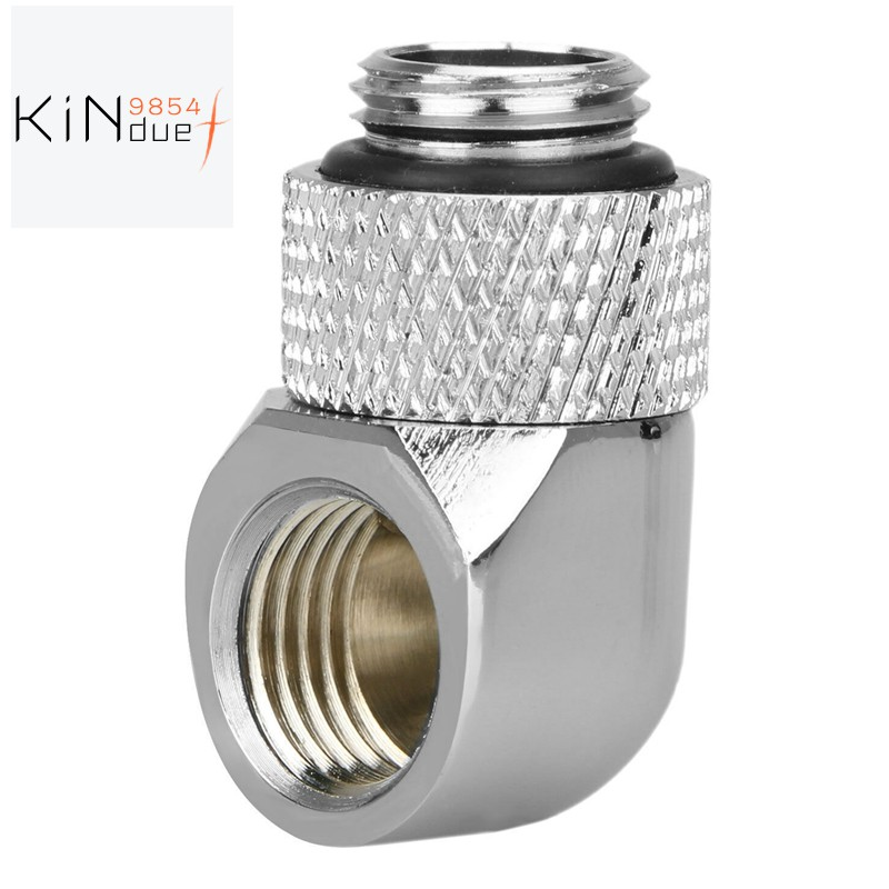 - 1 3 Way G1//4inch Internal Thread Brass Water Cooling Fittings Connectors Silver Computer Components CPU Cooling Fans - 3 Way G1//4 Internal Thread Water Cooling Fittings Connectors