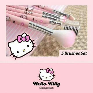 b337a2743 Hello Kitty Makeup Brush Set - 5 in 1 | Shopee Malaysia