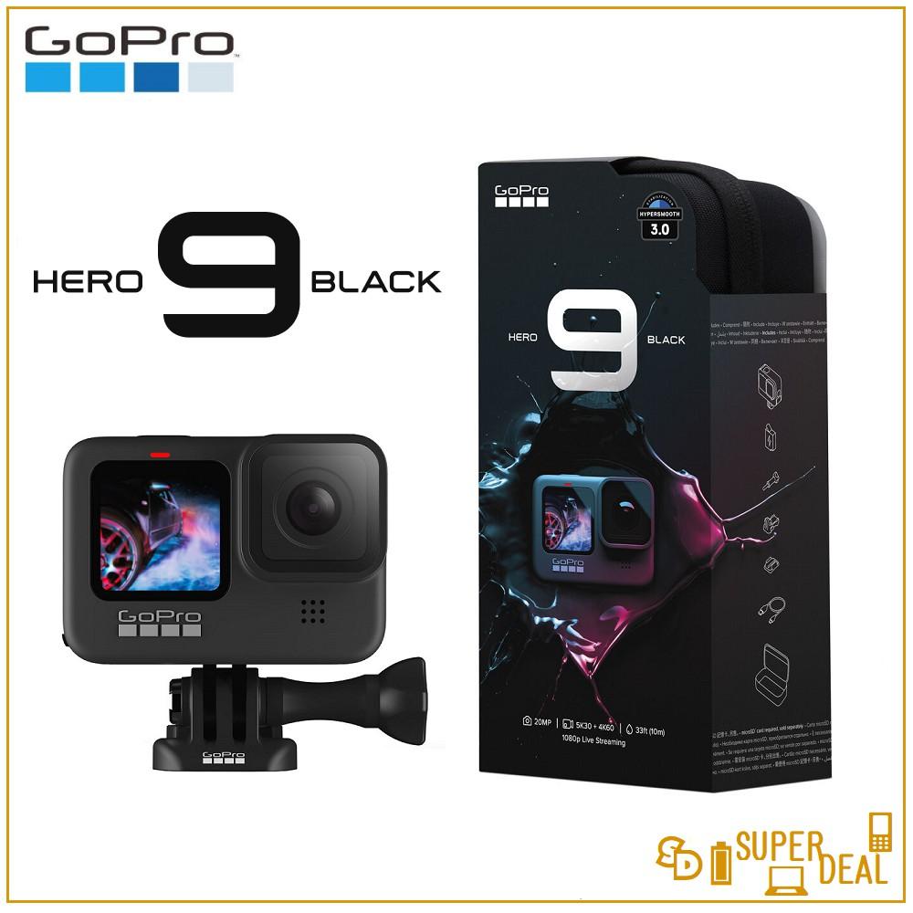 GoPro HERO 9 Black (23.6MP Sensor, 5K30 Video & 20MP Photos) imported Set
