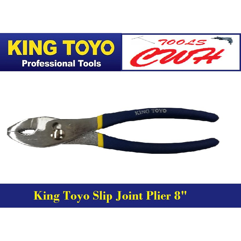 "KTSJP-8 King Toyo Slip Joint Plier 8""    STANLEY SATA SATAGOOD BONDHUS SOCKET SPANNER PLIER DEWALT M10"