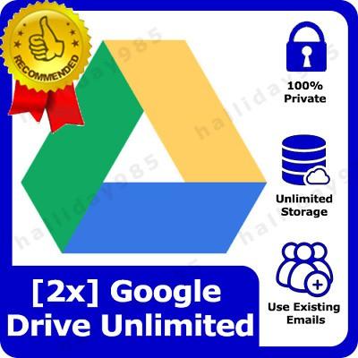 [2x] Google Drive Unlimited Lifetime Storage - Buy1 Free1