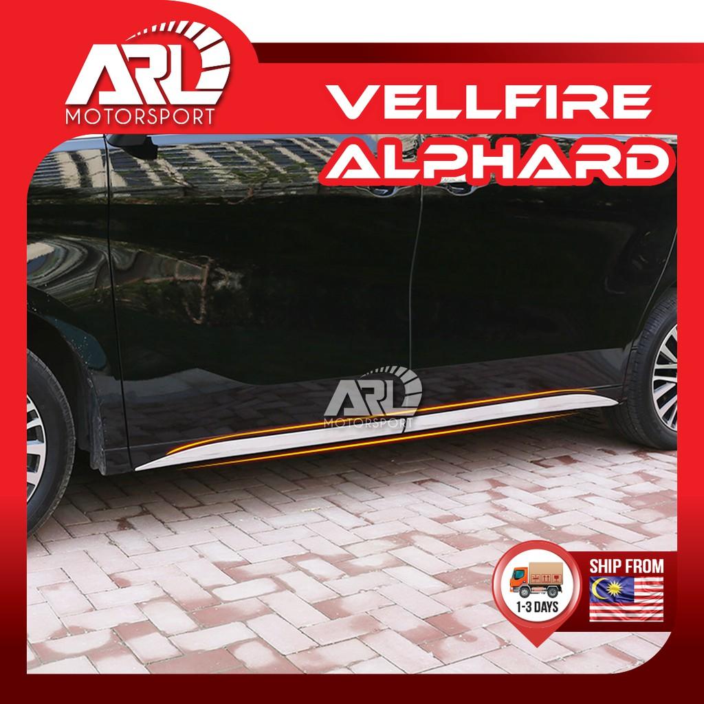 Toyota Alphard / Vellfire (2015-2020) AH30 AGH30 Skirting Chrome Protector Cover Car Auto Acccessories ARL Motorsport