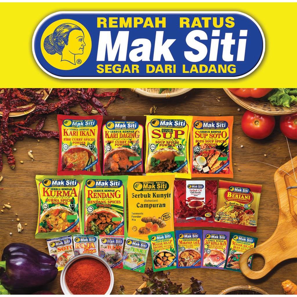Serbuk Rempah Ratus Mak Siti Shopee Malaysia