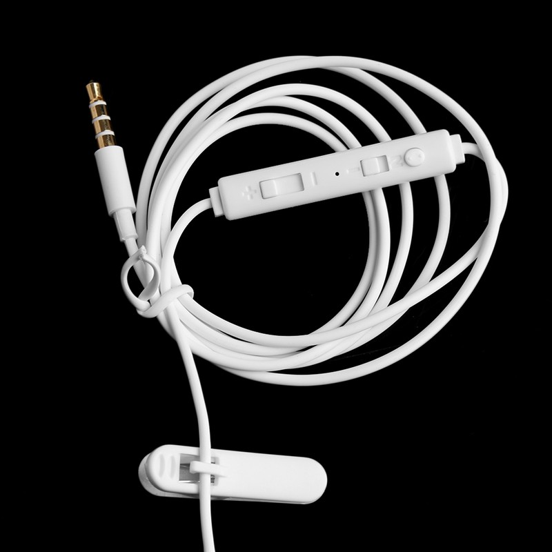 3.5mm In-Ear Anti-Radiation Earphone Air Spring Duct With Mic For Smart Phone