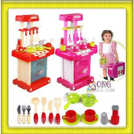 Big Kitchen Playset Shopee Malaysia