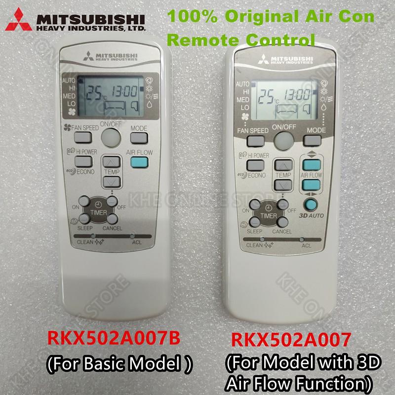 100% Original Mitsubishi Heavy Industries Air Con Remote Control