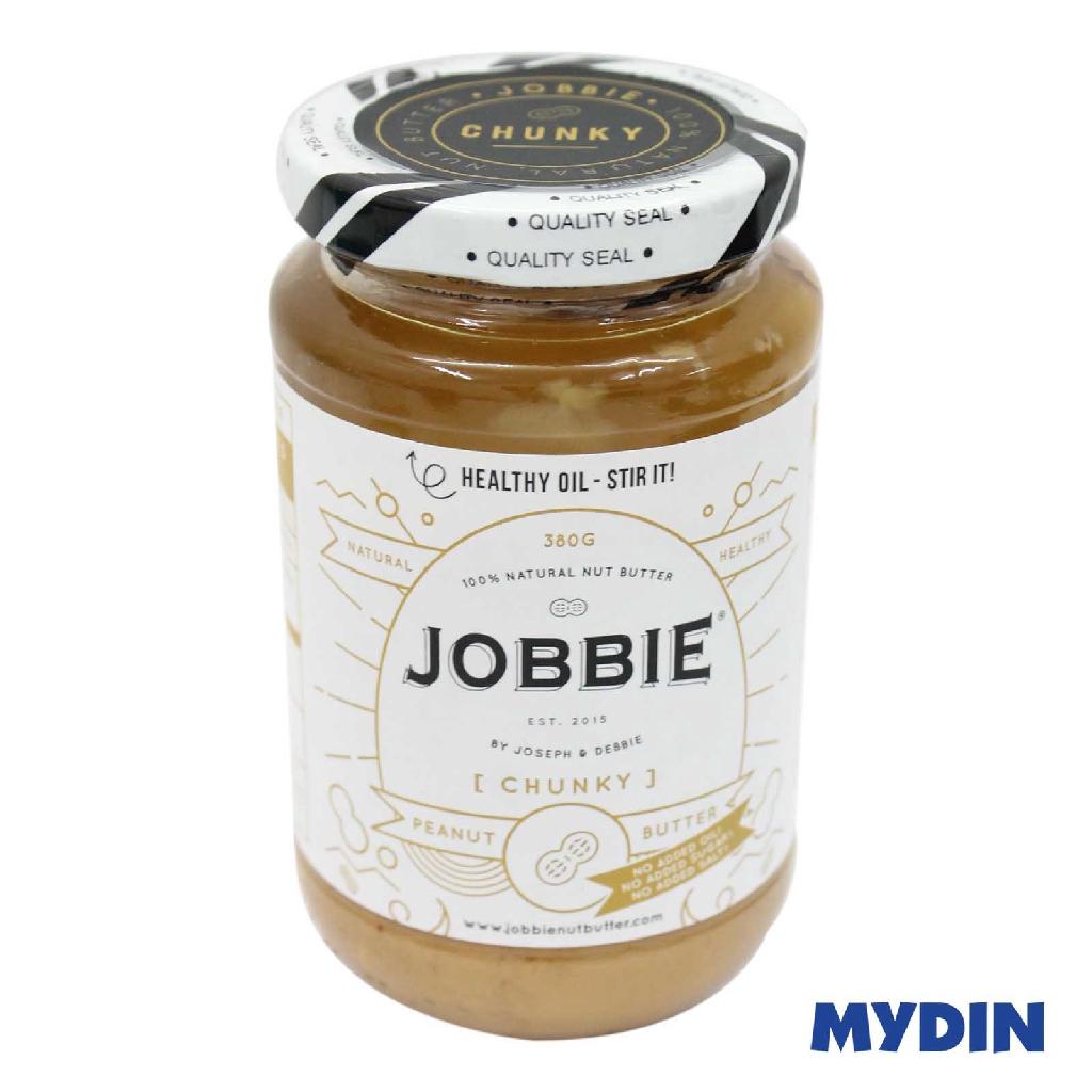 Jobbie Peanut Butter No Salt/Sugar (380g) - Chunky