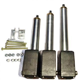 3PCS Metal Arm Driving Rod Servo Part Für HUINA 1592 RC Excavator Car 22CH 1//14