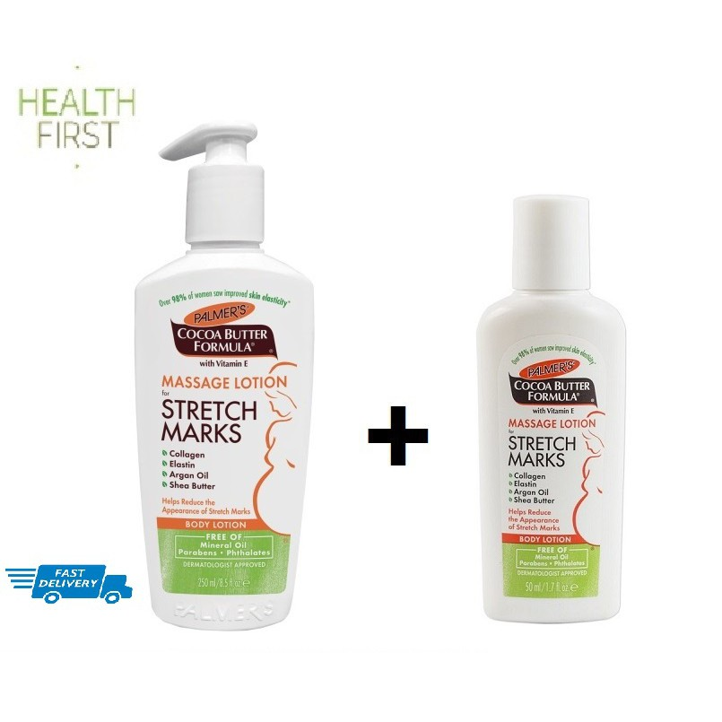 Palmer's Cocoa Butter Formula Massage Lotion for Stretch Marks 250ml + 50ml foc