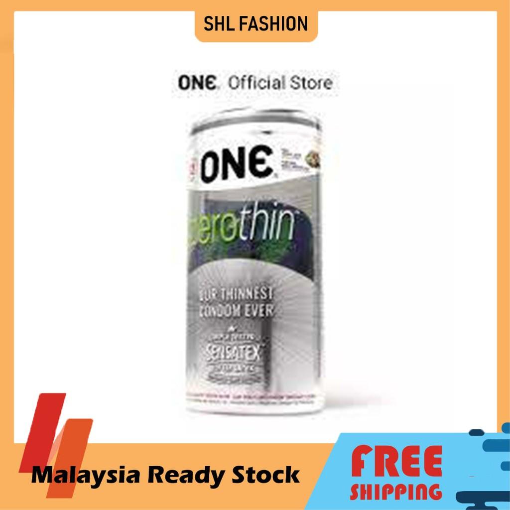 ONE Condoms Zerothin 12pcs Kondom SHL Ready Stock 安全套 避孕套