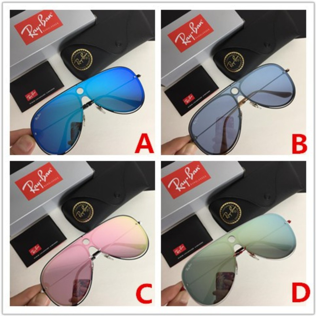 (RAY.BAN) RB3605 N BLAZE SHOOTER (Authentic Sunglasses ) 2019 COLLECTION