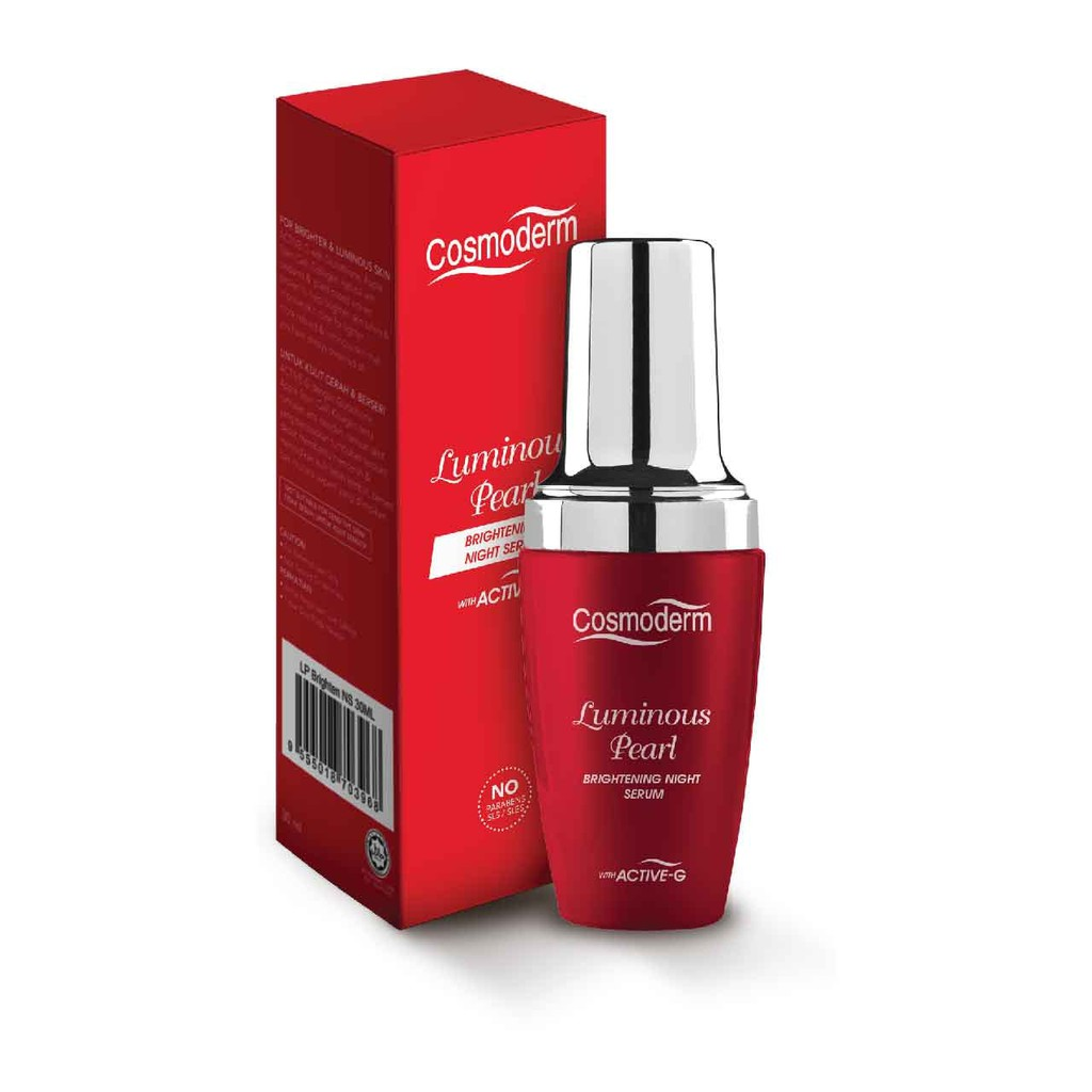 Image result for Cosmoderm luminous pearl brightening night