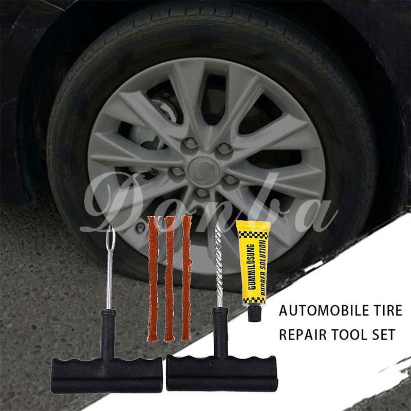 Tire Plug Probe Tool Spiral Rasp T Handle Tire Repair Tool1