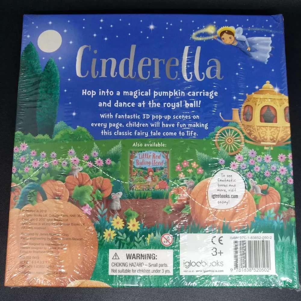 [Ready Stock] 3D Pop-Up Scene Cinderella