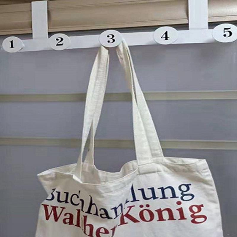 Tifui Over The Door Hook Hanger Heavy Duty Rack Organizer For Towel Coat Bag 5 Hook Shopee Malaysia