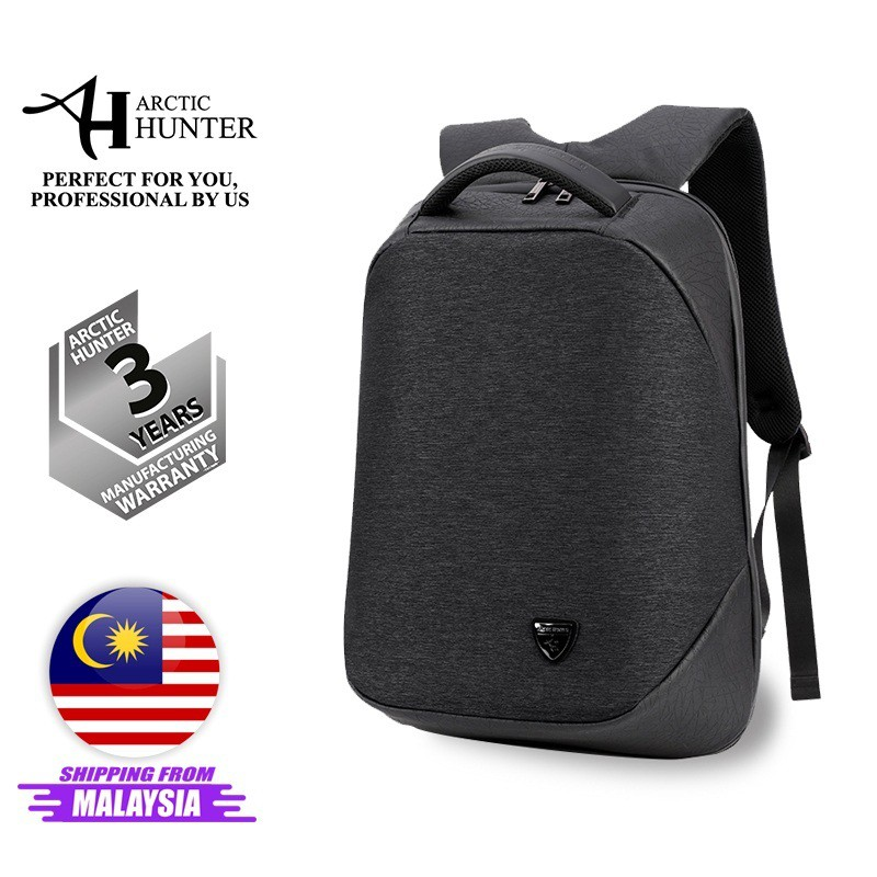 """Arctic Hunter i-Omni Backpack 15.6"""" UNISEX Laptop Backpack ANTI-THEFT Office Bag with USB Waterproof Bag Material"""