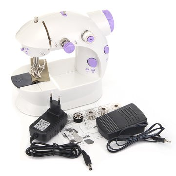Portable Mini sewing machine 4 in 1 Dual Speed Mesin Jahit