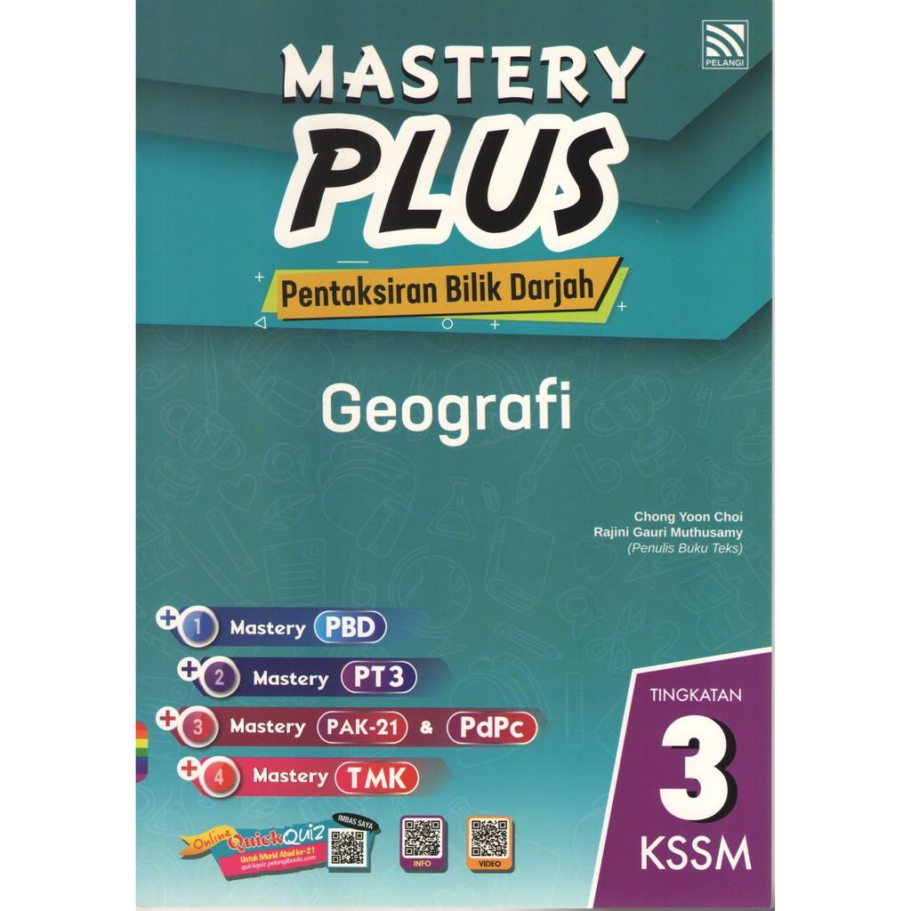 Pelangi Mastery Plus Geografi Tingkatan 3 Shopee Malaysia