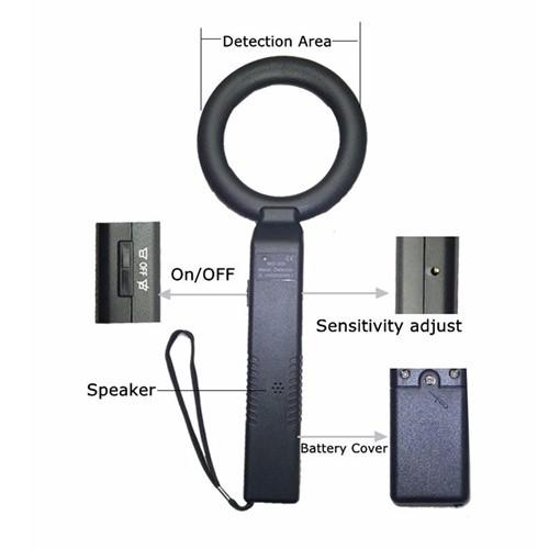 MD300 Handheld High Sensitive Metal Detector