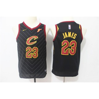 super popular 5de6a a340c NBA Cleveland Cavaliers LeBron James Basketball Jersey ...