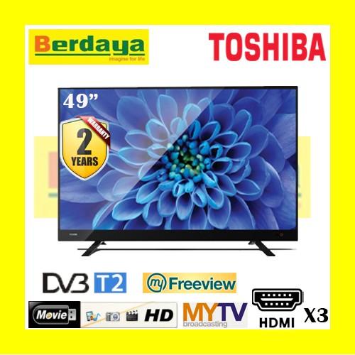 "*CNY SALE* Toshiba 49"" / 43"" / 40"" / 32"" FULL HD LED TV (DVB-T2 / FREE VIEW / MY TV)"