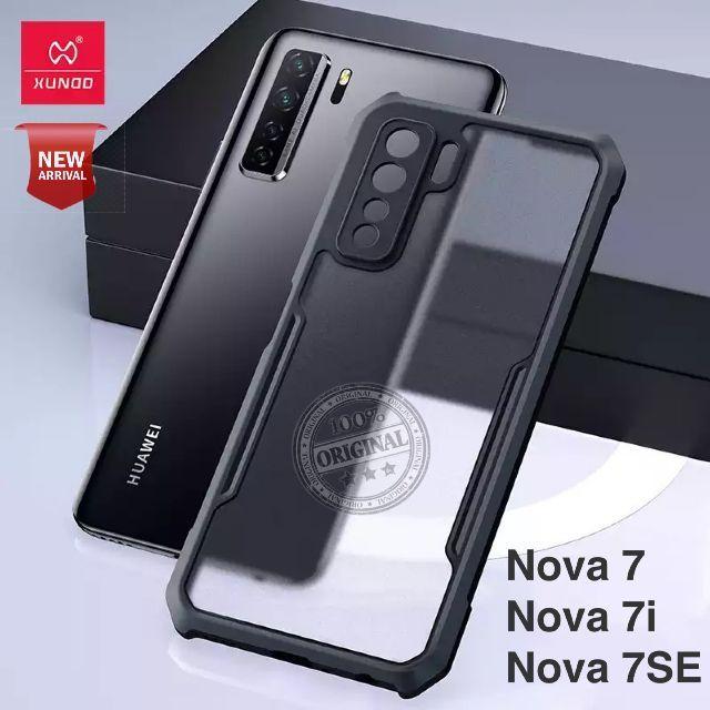 XUNDD For Huawei Nova 7 Case Transparent Cover Protective Soft Back Airbag Bumper Shell Shockproof For Nova7 SE Nova 7