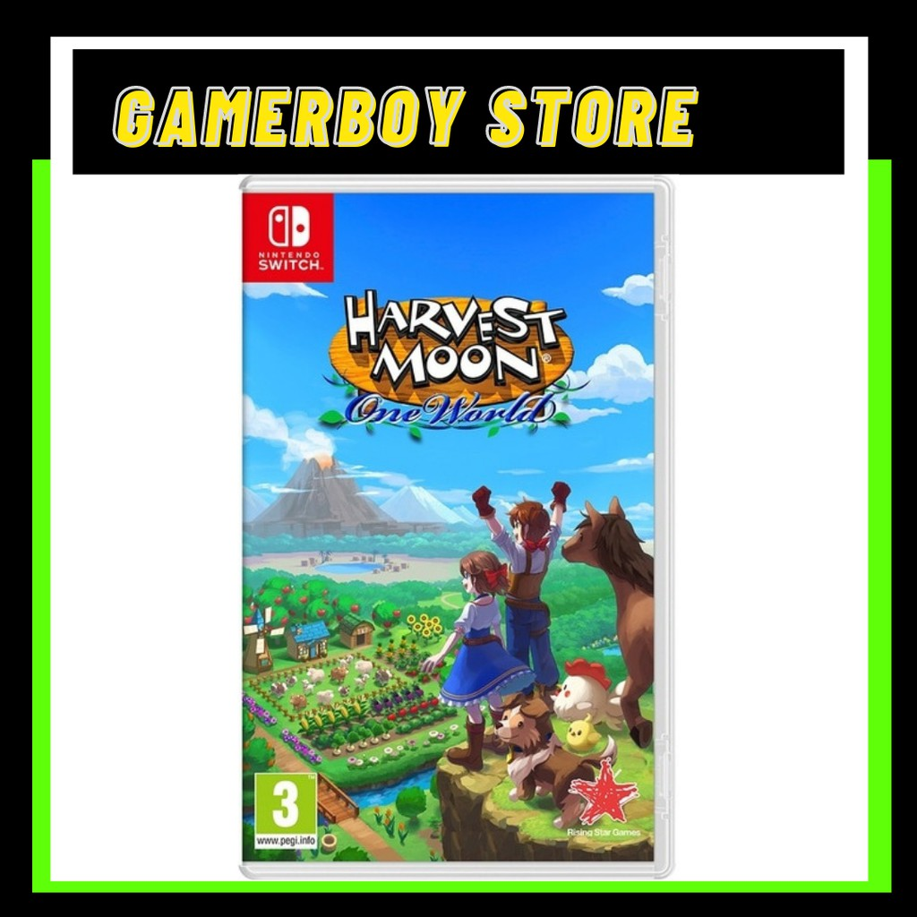 NS HARVEST MOON ONE WORLD [US] [ENG]
