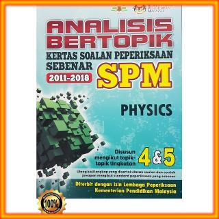 Buku Latihan Analisis Bertopik Spm Physics Shopee Malaysia