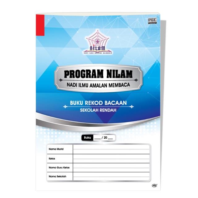 Buku Rekod Membaca Program Nilam Shopee Malaysia