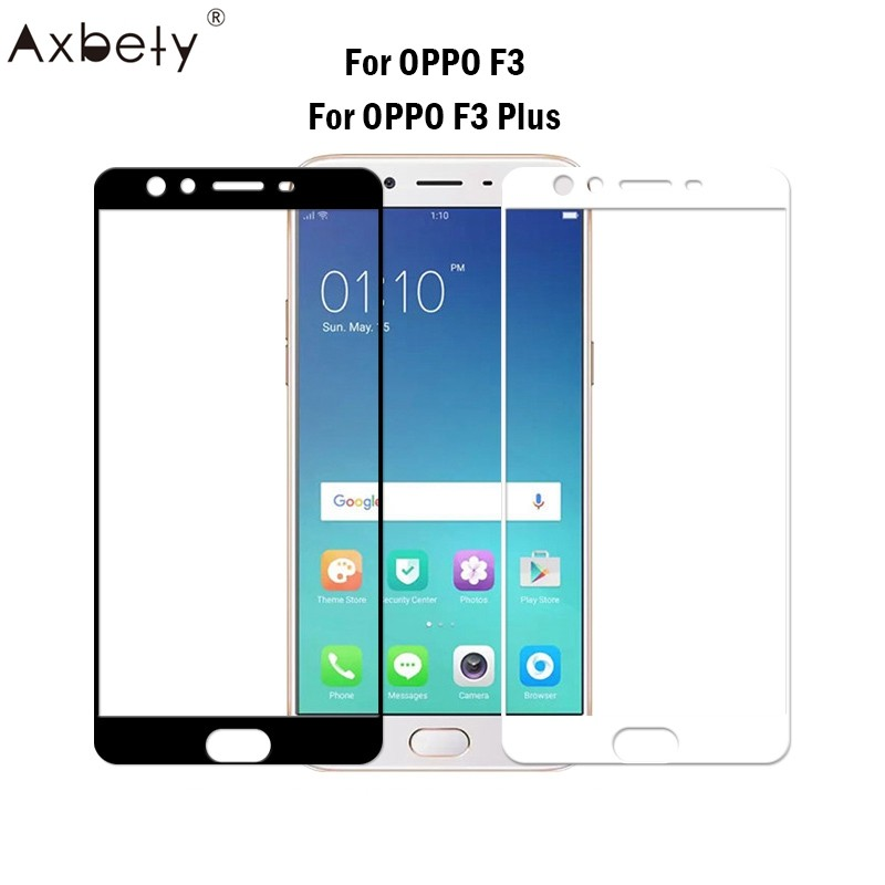 For OPPO F3/F3 Flus Full 9H Protective film Tempered Glass